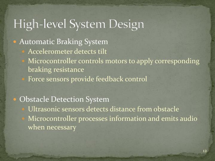 High-level System Design