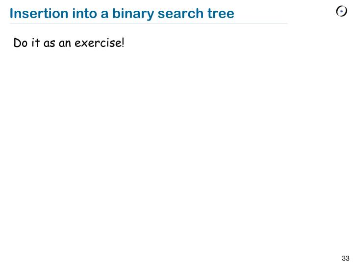 Binary search tree best case complexity