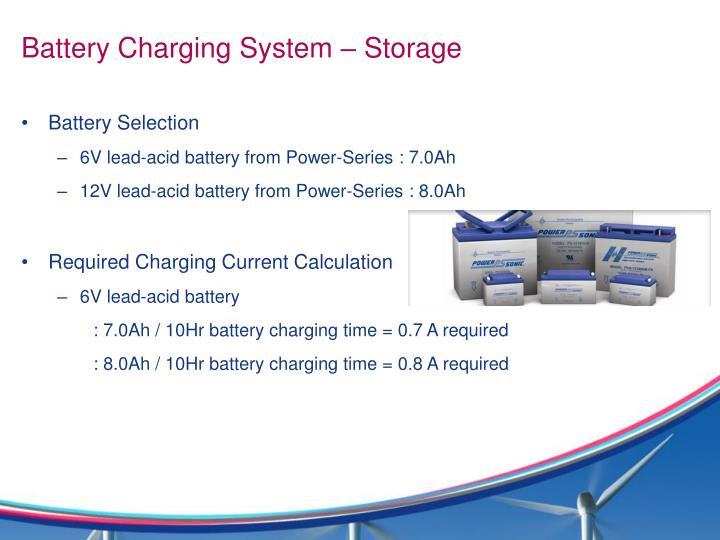Battery Charging System – Storage