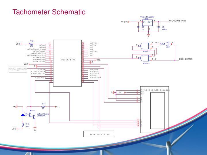 Tachometer Schematic