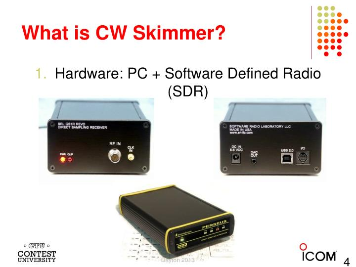 What is CW Skimmer?