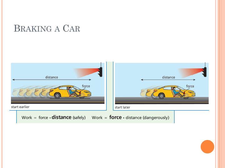 Braking a Car