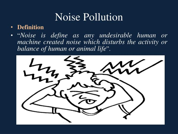 Short Paragraph on Noise Pollution - Important India