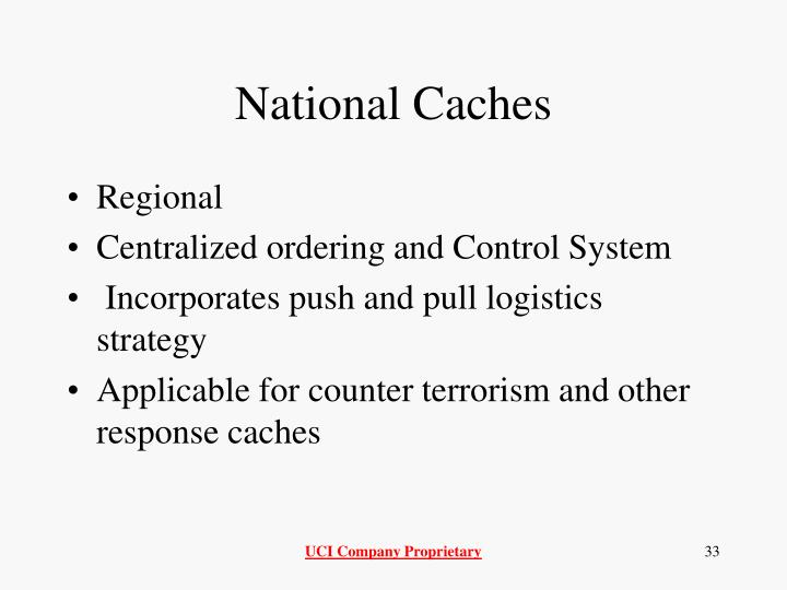 National Caches