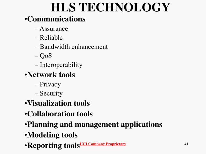 HLS TECHNOLOGY