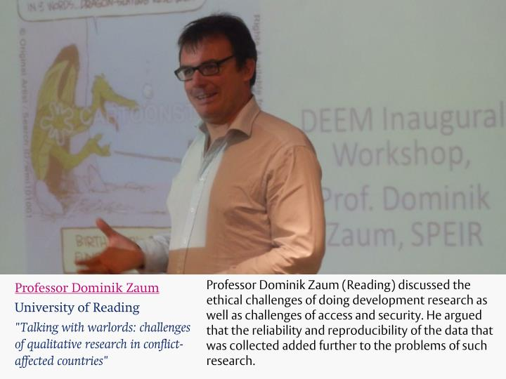 Professor Dominik