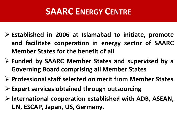 SAARC Energy Centre