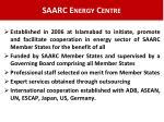 saarc energy centre