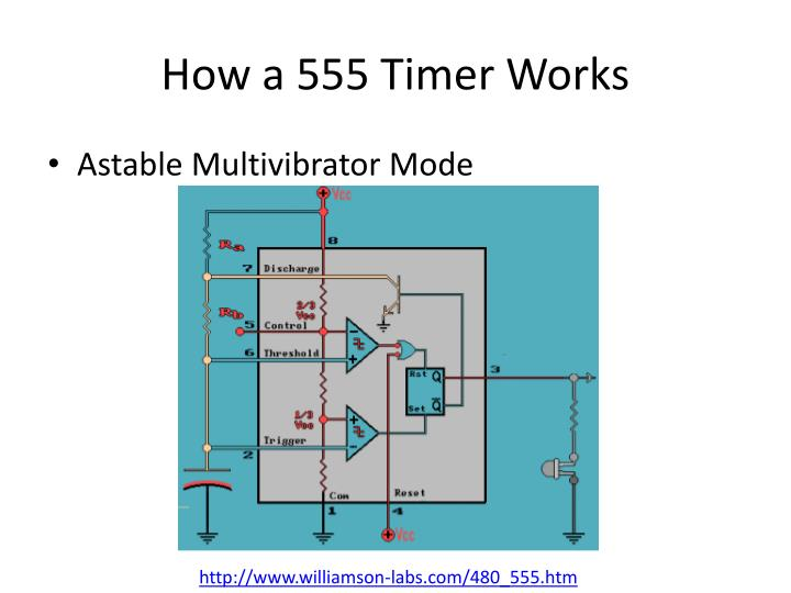 How a 555 Timer Works