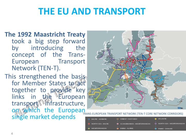 THE EU AND TRANSPORT