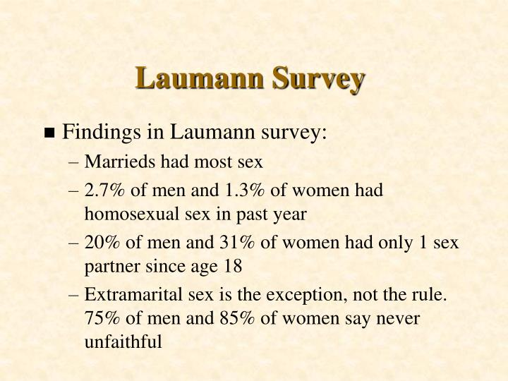 Laumann Survey
