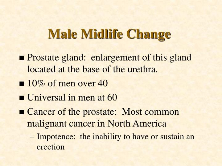 Male Midlife Change