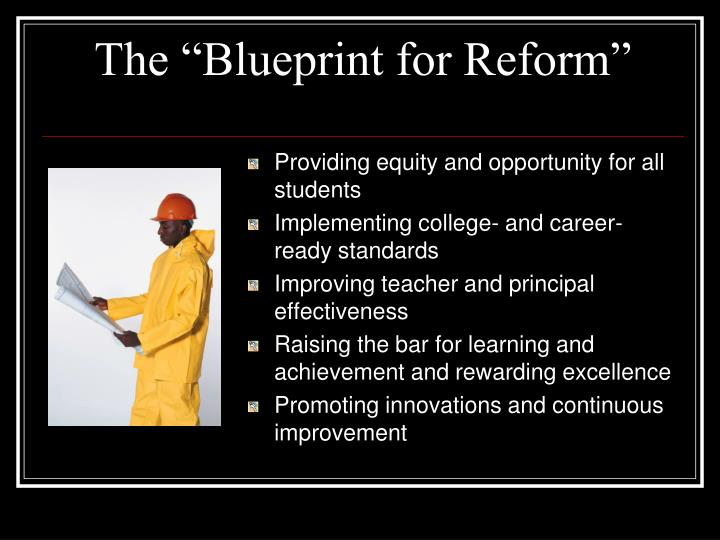 "The ""Blueprint for Reform"""