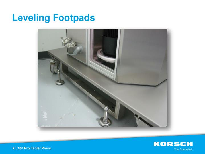 Leveling Footpads