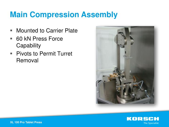 Main Compression Assembly