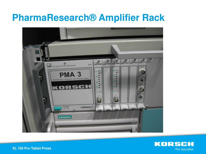 PharmaResearch® Amplifier Rack