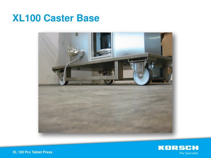 XL100 Caster Base