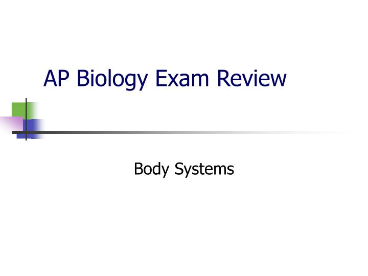 biology 130l exam review