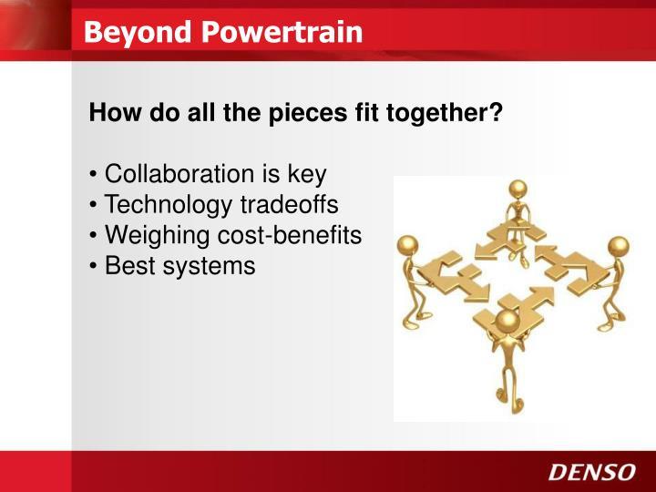 Beyond Powertrain