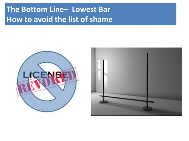 The Bottom Line–