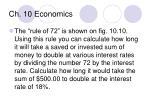 ch 10 economics8