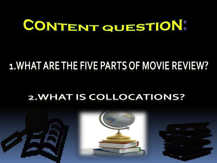 content Question