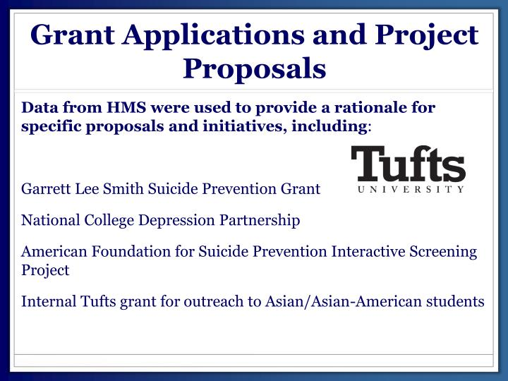 Grant Applications and Project