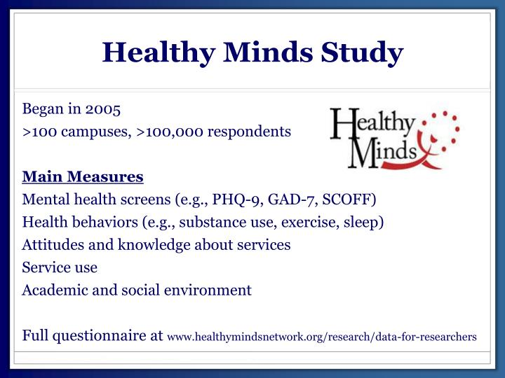 Healthy Minds Study