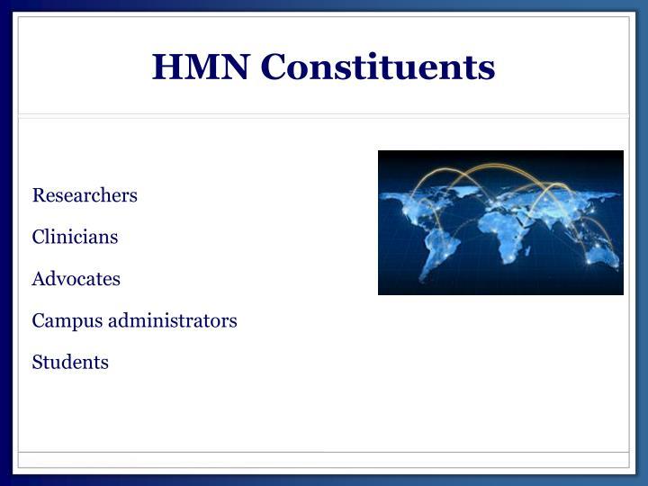 HMN Constituents