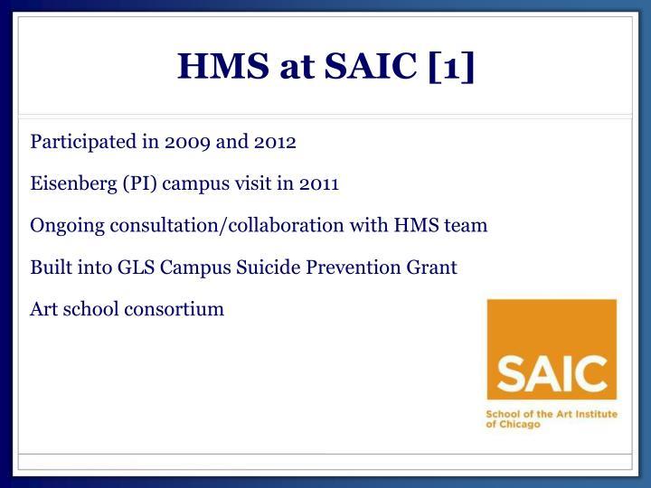 HMS at SAIC [1]