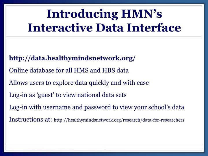 Introducing HMN's