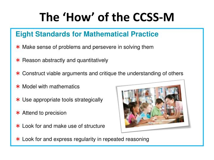 The 'How' of the CCSS-M