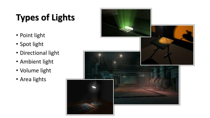 Types of lights1
