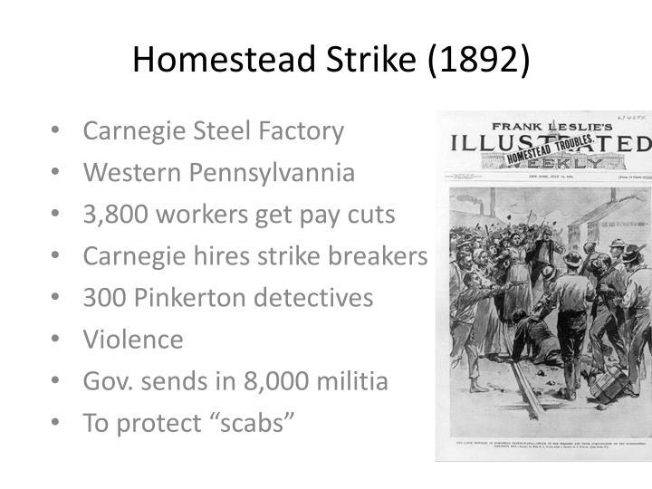 Homestead Strike (1892)