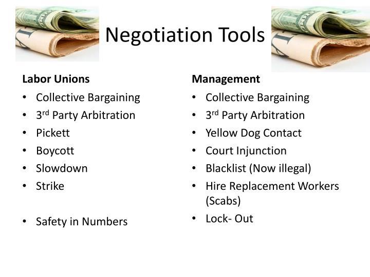 Negotiation Tools
