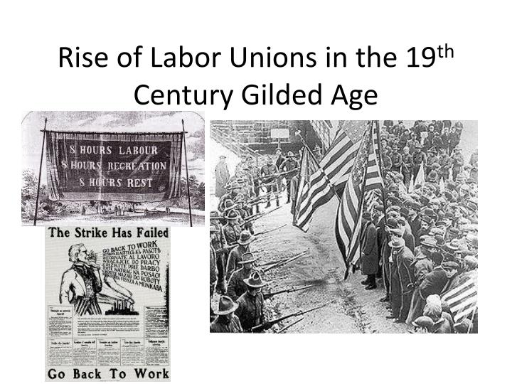 Rise of Labor Unions in the 19