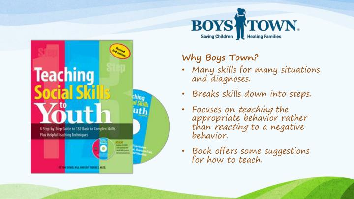 Why Boys Town?