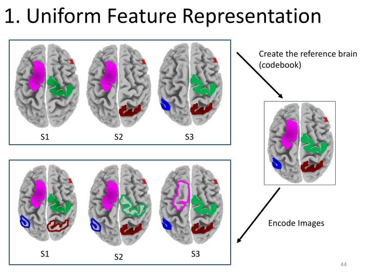 1. Uniform Feature Representation