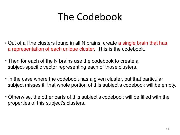 The Codebook