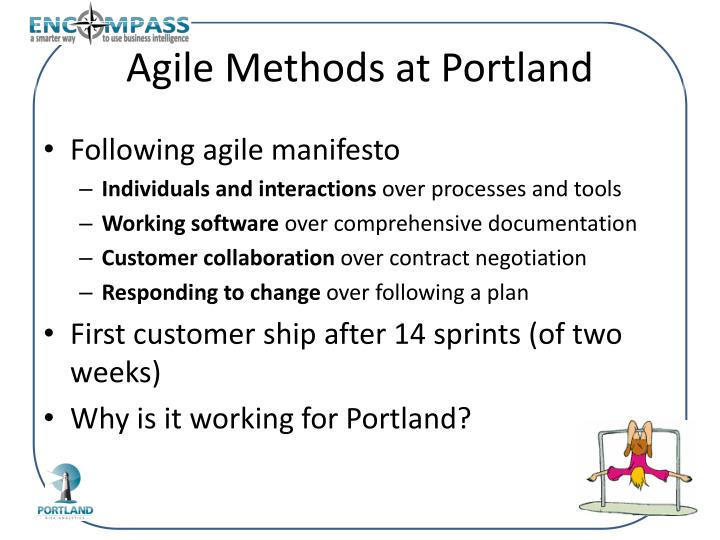 Agile Methods at Portland