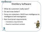 distillery software