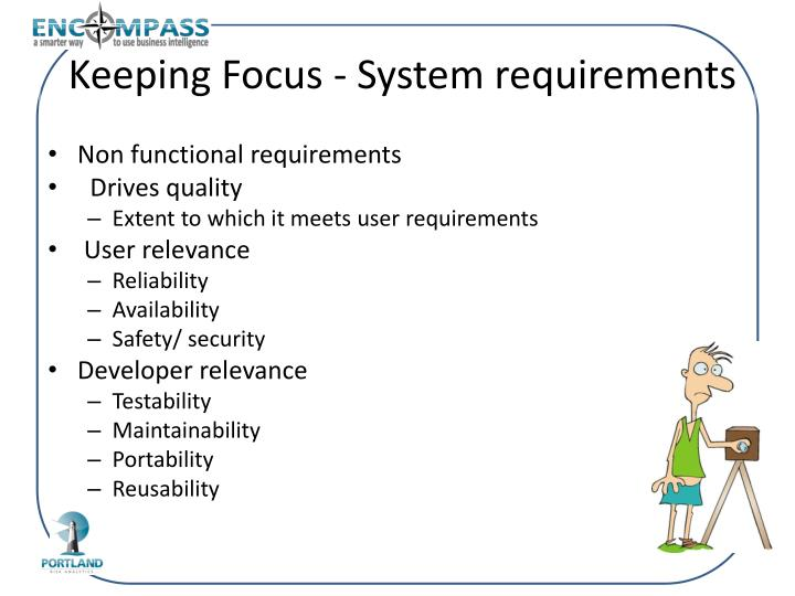 Keeping Focus - System requirements