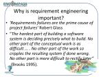 why is requirement engineering important