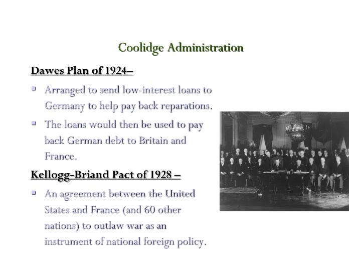 Coolidge administration
