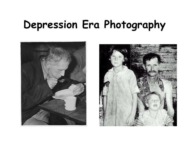 Depression Era Photography