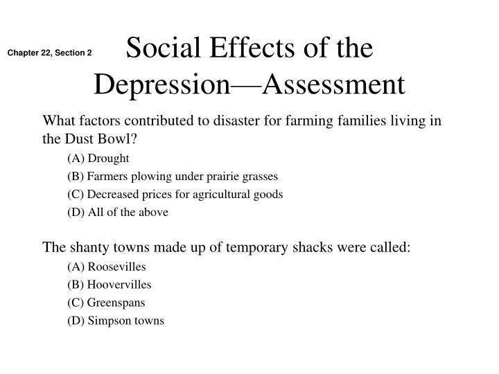 Social Effects of the