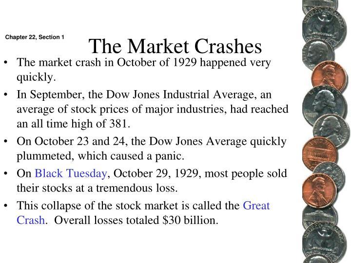 The Market Crashes