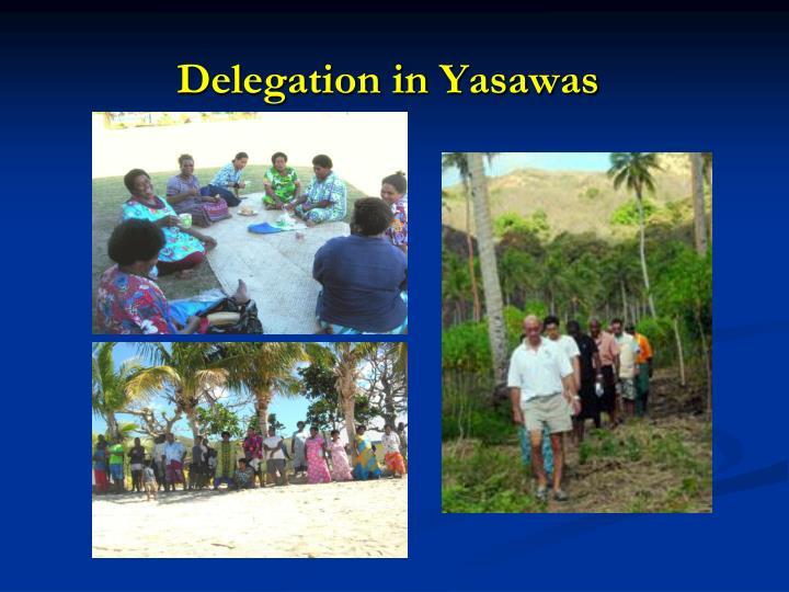 Delegation in