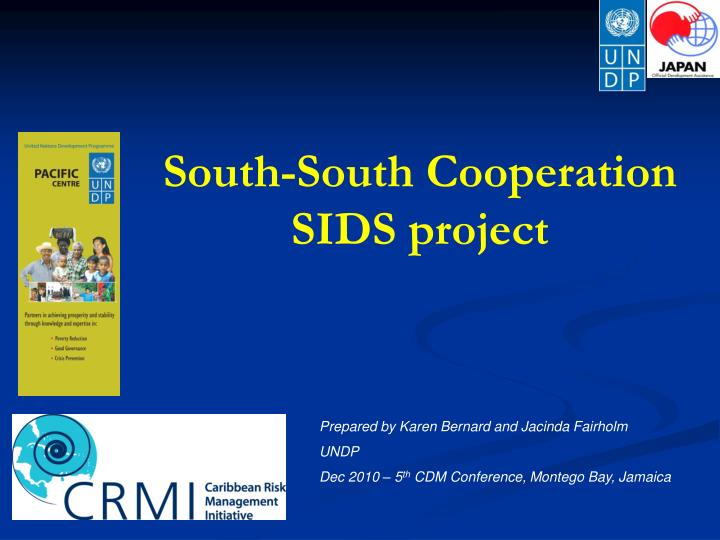 South south cooperation sids project