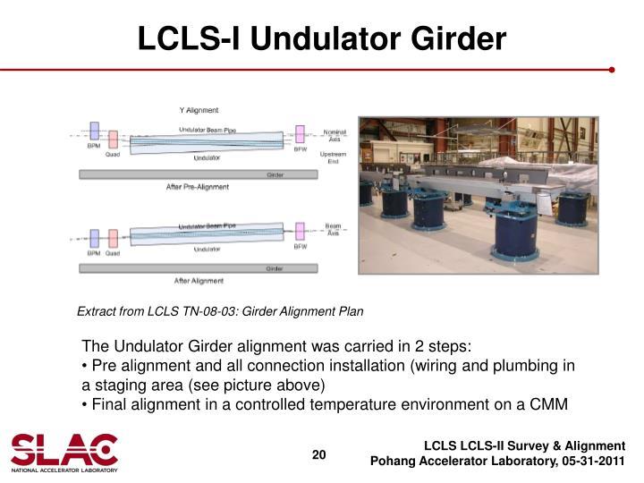 LCLS-I Undulator Girder